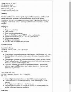 er nurse resume template best design tips With er nurse resume examples