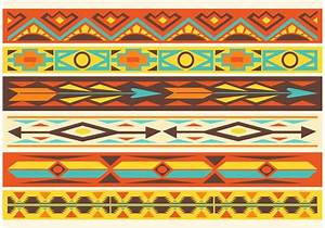 Free Native American Pattern Vector Borders - Download ...
