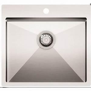 Evier 1 Bac Inox Sans Egouttoir : evier inox 1 bac topiwall ~ Premium-room.com Idées de Décoration