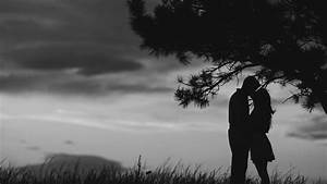 Kissing romantic couple in romantic night HD wallpapers ...
