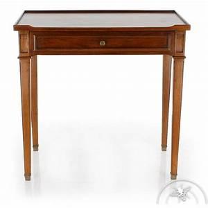 Bureau Ancien En Bois : meuble ancien petit bureau directoire bureau en bois massif ~ Carolinahurricanesstore.com Idées de Décoration