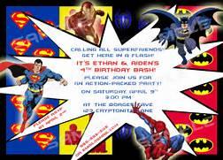 Pics Photos Free Superhero Invitation Template Superhero Invitations Template Best Template Collection Superhero Invitation Templates Canva DIY Printable Invitation Super Hero