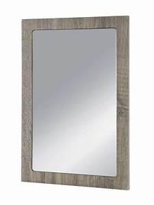 Große Wandspiegel Mit Rahmen : wandspiegel 60x40cm rahmen eiche tr ffel ~ Bigdaddyawards.com Haus und Dekorationen