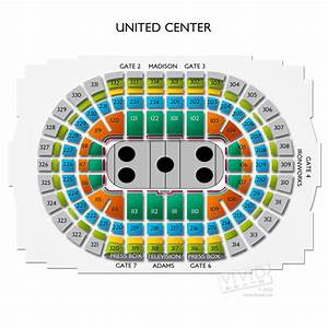 Vivid Seats Seating Chart United Center Tickets United Center Information United