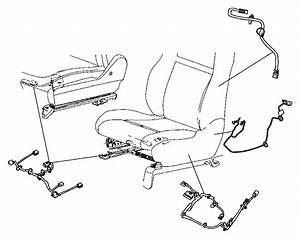 2013 Dodge Durango Wiring  Power Seat  Trim   Cloth Low