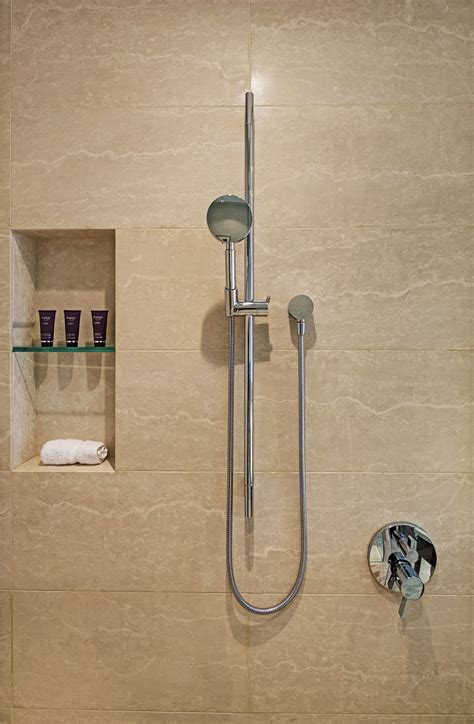 Hansgrohe Bathroom Fixtures by Axor Starck Wallbar 36 Quot With The Hansgrohe Raindance S 100
