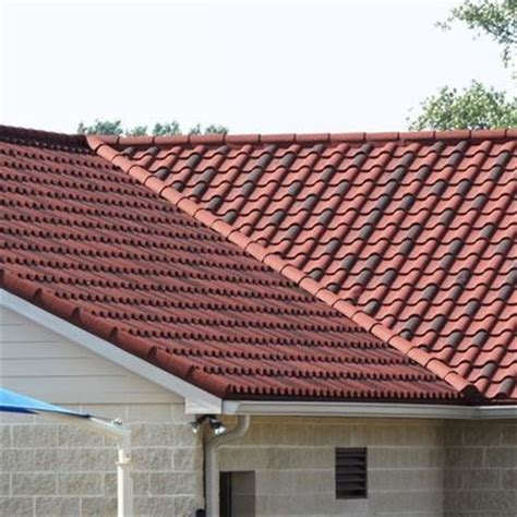 decra villa tile clay decra villa tile i think this color is rustic clay our
