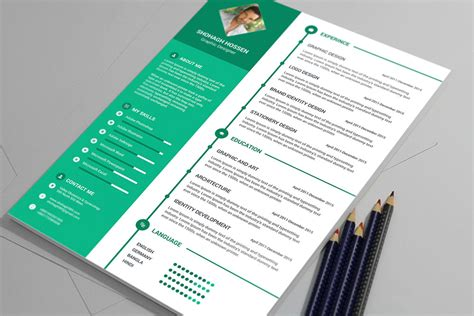 Clean Resume Psd by Free Clean Resume Design Template In Psd Format Resume