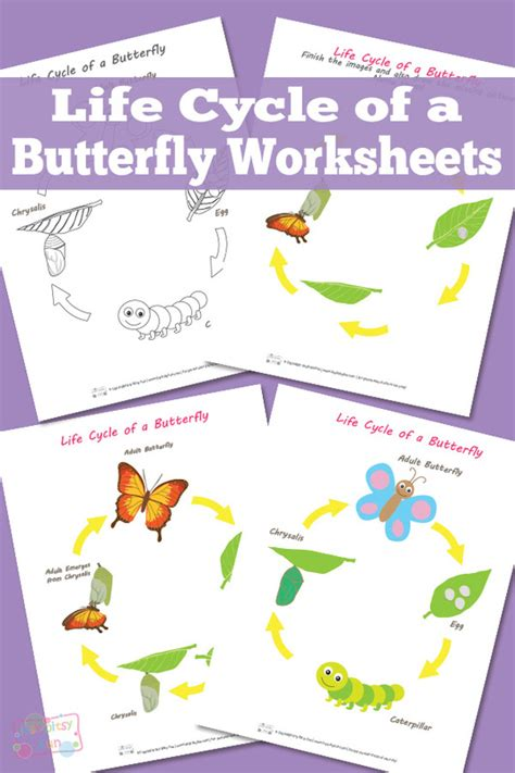Butterfly Life Cycle Paper Plate Toy Craft Free Fjextange Template by The Activity Mom Life Cycles Printable The Activity Mom