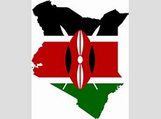 Kenya Flag Map · Free vector graphic on Pixabay