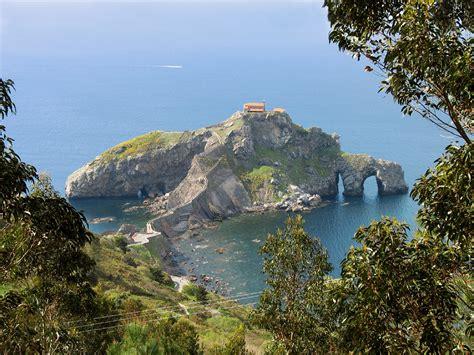 San Juan De Gaztelugatxe Basque Country Spain Goodb