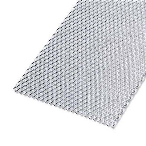 tole aluminium leroy merlin t 244 le perfor 233 e aluminium anodis 233 l 100 x l 60 cm x ep 1 6 mm leroy merlin