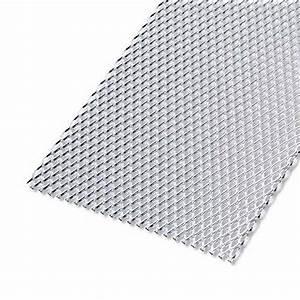 tole perforee aluminium brut l200 x l100 cm x ep16 mm With tole en acier inoxydable pour la cuisine