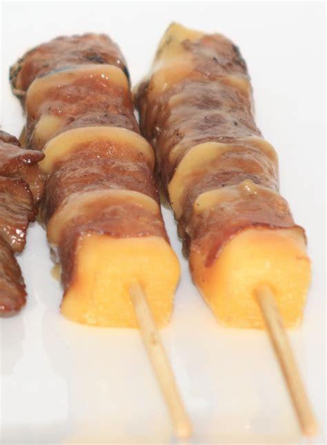 recette de cuisine japonaise recette brochettes yakitori boeuf fromage recettes