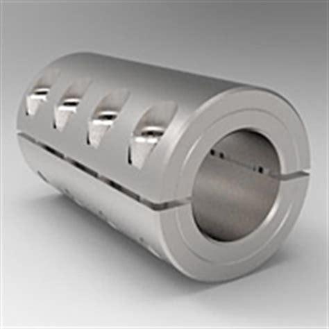 metric rigid shaft couplings  piece split clamp type  stafford manufacturing corp
