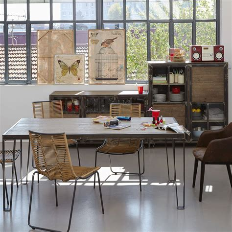 chaises cuisine alinea choisir astucieusement sa table de salle à manger