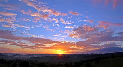 morning colors free images landscape nature horizon mountain cloud