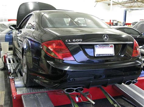 ''incidentata come da foto'' scoppiato solo airbag guidatore. 2007 Mercedes-Benz CL600 V12 Bi-Turbo ECU Tuning - OE Tuning - Huntington Beach ,CA ,US - #223141