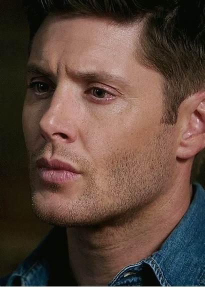 Jensen Ackles Dean Winchester Face Shut Supernatural