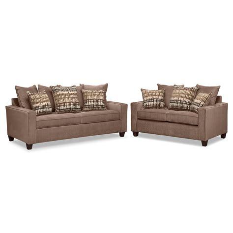 Foam Loveseat Sleeper by Bryden Memory Foam Sleeper Sofa And Loveseat Set
