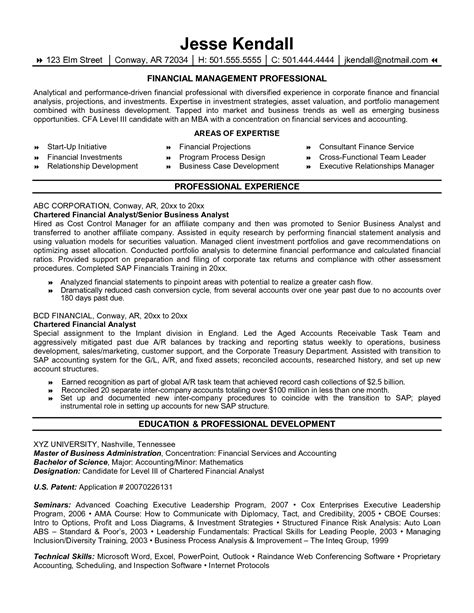 exles of resumes resume template summary objective