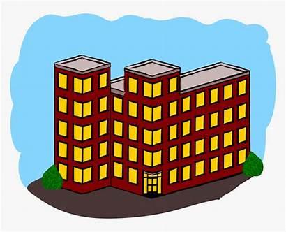 Apartment Cartoon Building Clipart Pngitem Mardiana Via