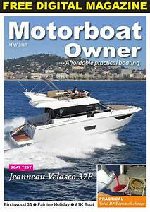 Motorboat Owner May 2015 By Digital Marine Media Ltd