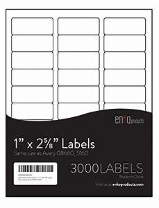 100 sheets 3000 labels 3 x 1 fba labels same size With 5160 label size