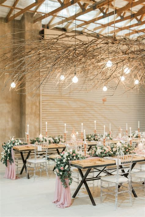Blush & Rose Gold South African Wedding Aisle Society