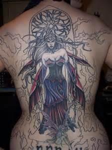 Dark Gothic Fairy Tattoos