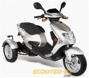 Scooter 3 Roues 125 : pgo lance le premier 3 roues 50 cm3 avec le tr3 50 ~ Medecine-chirurgie-esthetiques.com Avis de Voitures