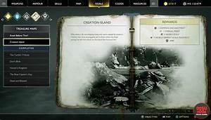 God of War Creation Island Treasure Map Location & Puzzle ...