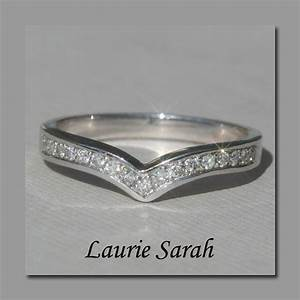 diamond wedding band contour wedding band by With contour wedding rings