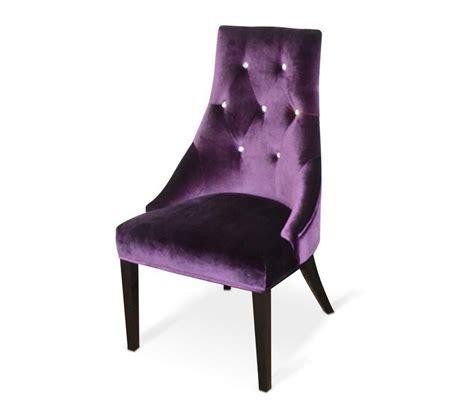 dreamfurniturecom aa purple velour dining chair