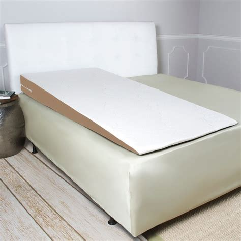 bed wedge for acid reflux avana superslant length acid reflux bed wedge pillow