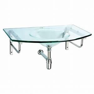 Vasque En Verre : meuble de salle de bain mobilier salle de bain design ~ Premium-room.com Idées de Décoration