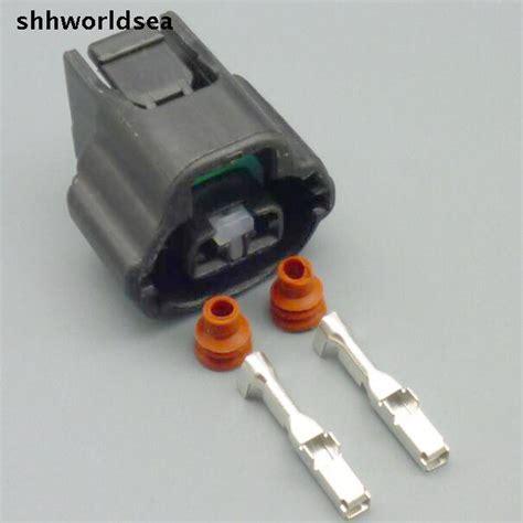 shhworldsea 2 pin car automotive wiring connector