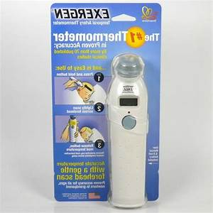 Exergen Temporal Scan Forehead Artery Baby Thermometer Tat