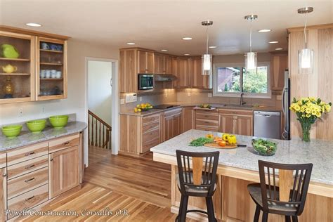 color schemes for kitchens with cabinets rustic kitchen colors with hickory cabinets ideas