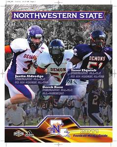 ISSUU - 2011 NSU FB Media Guide by Northwestern State ...