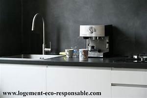 Crédence Béton Ciré : credence cuisine beton cire cr dences cuisine ~ Mglfilm.com Idées de Décoration