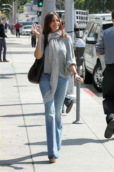 Sofia Vergara In Hudson Celebrities In Designer Jeans