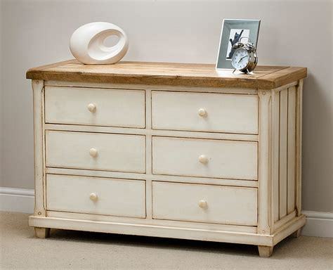 shabby chic white painted mango wood furniture