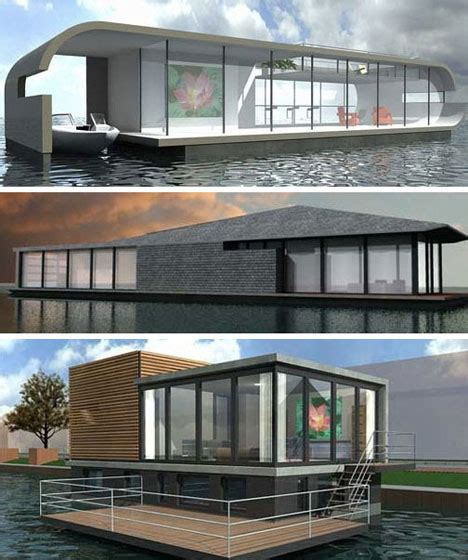 Houseboats Designs by 17 Real Houseboats House Boat Design Ideas
