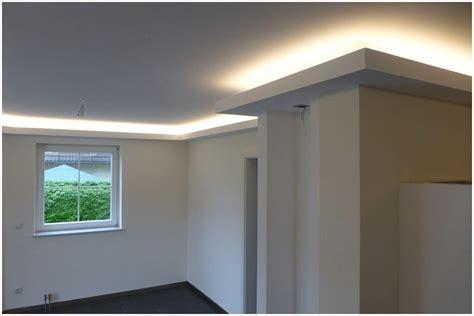 Trockenbau Decke Abhängen Indirekte Beleuchtung Hauptdesign