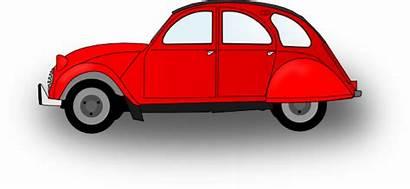 Vehicle Sedan Mobil Kartun Clipart Animasi Clip