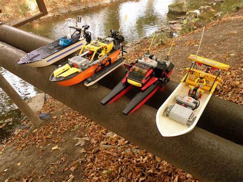 Lego Boat Racer by Technicbricks Week Techvideo 2009 43 Lego Ship Racing