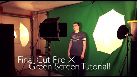 Final Cut Pro X Green Screen Tutorial! (movie Review Howto