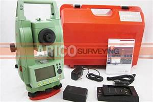 Leica Tc407 7 U0026quot  Total Station For Surveying
