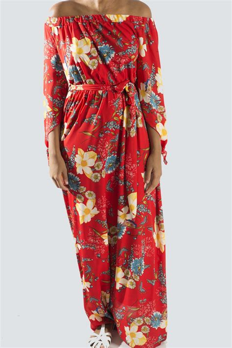 off shoulder maxi dress dresses fashion world